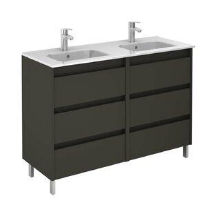 Gravette 48 Double Bathroom Vanity Set