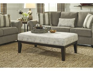 Darby Home Co Syracuse Standard Ottoman