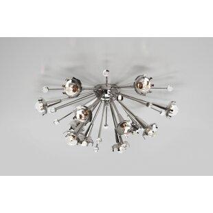 Sputnik 12-Light Flush Mou..