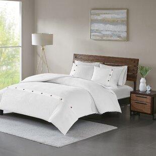 Carmella 3 Piece 100% Cotton Comforter set
