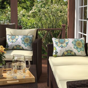 Fuente Outdoor Lumbar Pillow (Set of 2)