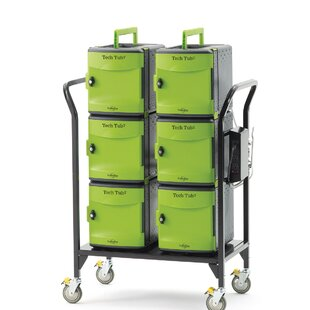 Tech Tub2? 32-Compartment Laptop Storage Cart by Copernicus