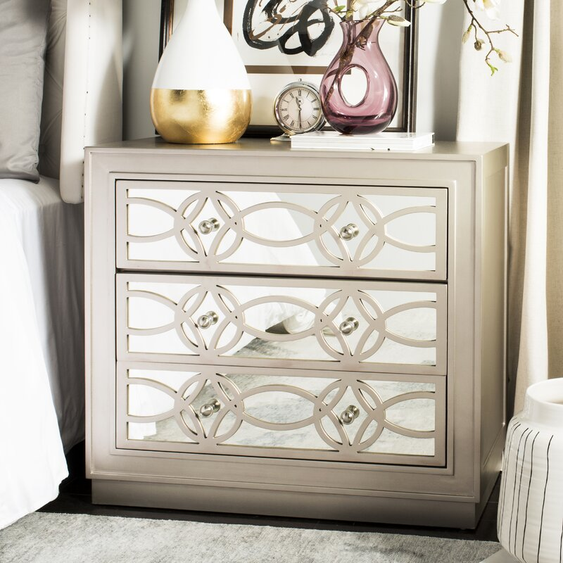 Charmant Dukinfield 3 Drawer Accent Chest