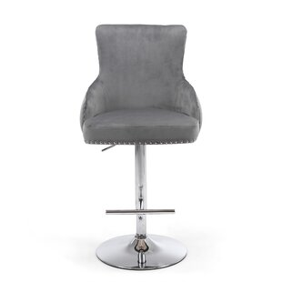 Cairo Height Adjustable Swivel Bar Stool By Willa Arlo Interiors