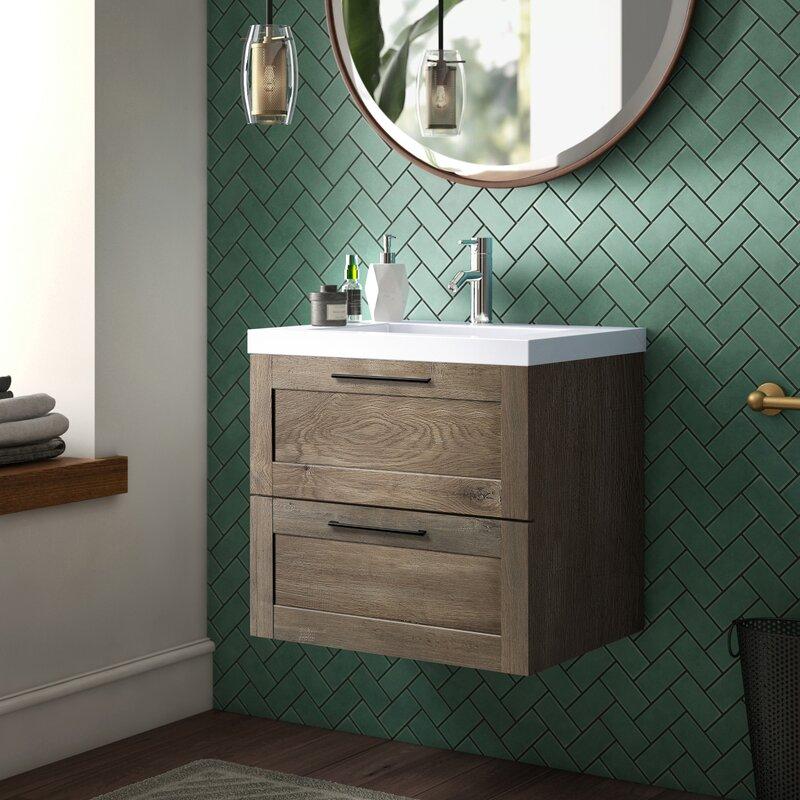 Mercury Row Yerger 24 Single Bathroom Vanity Set Reviews Wayfair