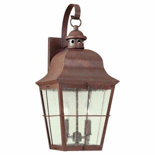 Comparison Fullerton 2-Light Outdoor Wall Lantern By Longshore Tides