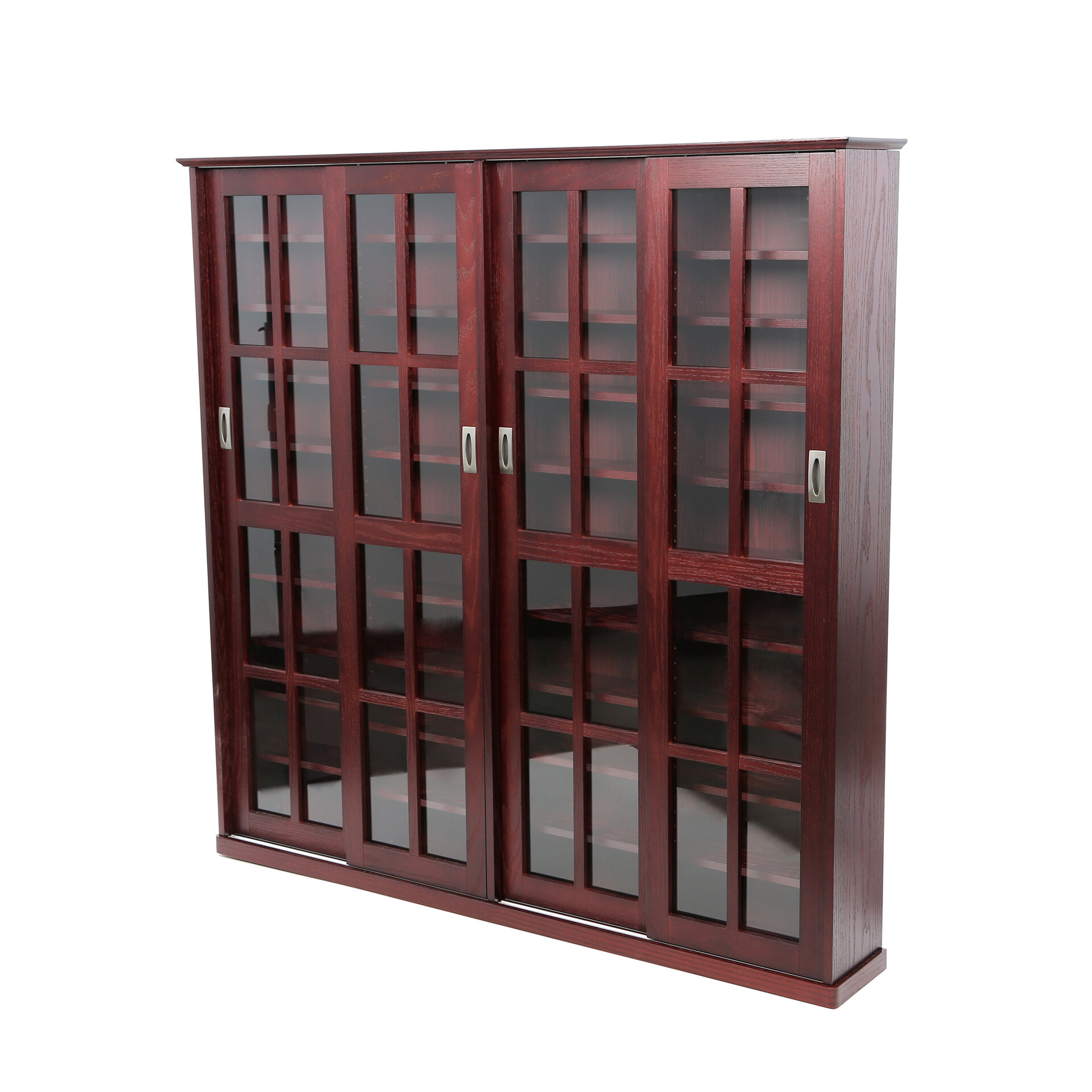 Andover Mills Jones Wood Multimedia Cabinet & Reviews | Wayfair