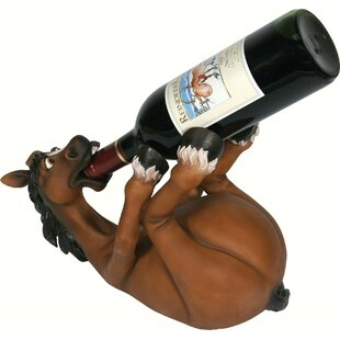 Sotelo Horse 1 Tabletop Wine Bottle Rack ..