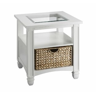 Alayna End Table with Storage by Longshore Tides
