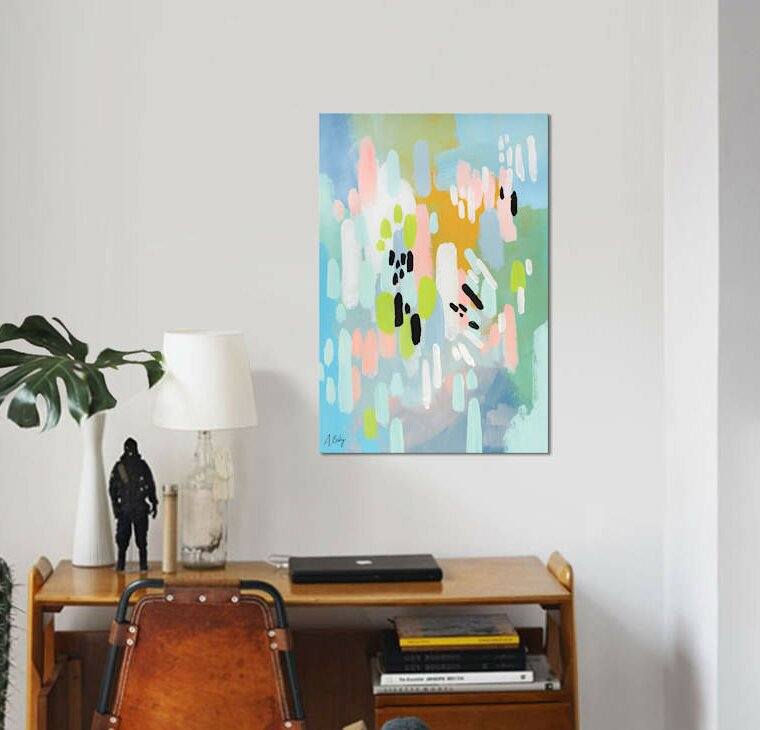 East Urban Home Lifted Spirits Graphic Art Print On Canvas Wayfair