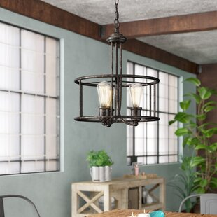 Lilac 3-Light Lantern Chandelier by Willi..