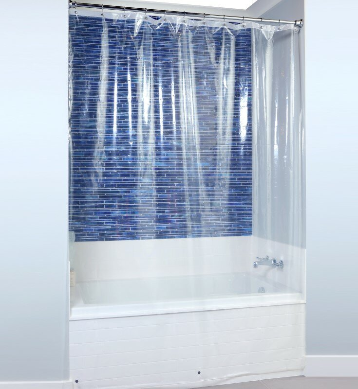 Rebrilliant Lomita Microban Peva Single Shower Liner Reviews