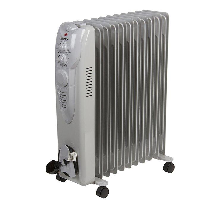 2500 Watt Radiator.Oil Filled 2 500 Watt Portable Electric Radiator Heater