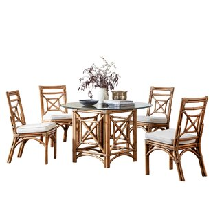 Plantation Bay 5 Piece Dining Set Panama Jack Sunroom