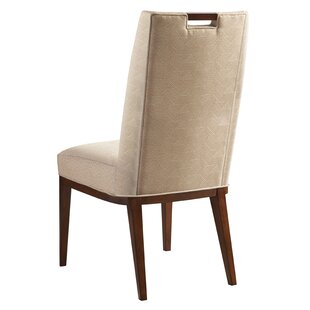 Island Fusion Coles Bay Upholstered Dining Chair by Tommy Bahama Home Looking fort