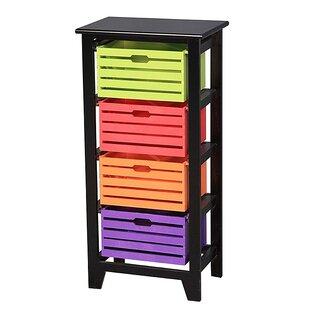 Order Mufeeda Wooden Cabinet 4 Drawer Storage Chest ByLatitude Run