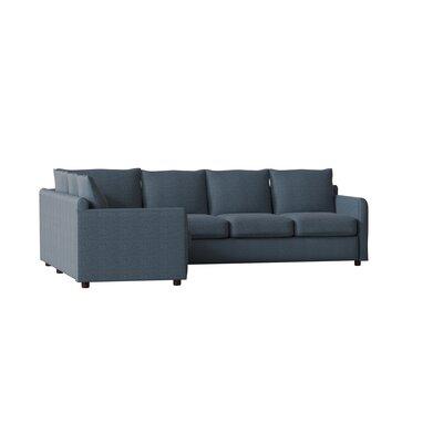 Magnificent Allmodern Custom Upholstery Alice Large Sectional Upholstery Evergreenethics Interior Chair Design Evergreenethicsorg