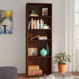 """Ryker 71.18"""" H x 24.5"""" W Standard Bookcase"""