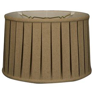16 Linen Drum Lamp Shade