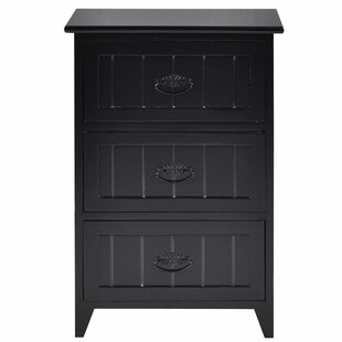 Norberg 3 Drawer Nightstand