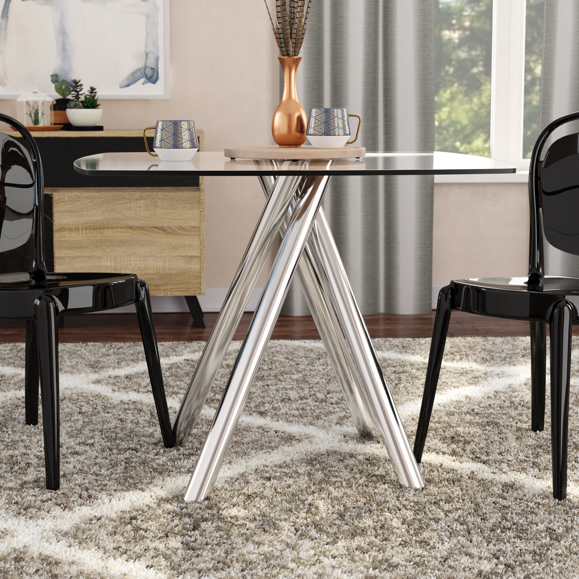 Sensational Huebner Dining Table Download Free Architecture Designs Salvmadebymaigaardcom