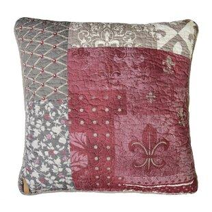 Chiang Cotton Throw Pillow by Fleur De Lis Living Sale
