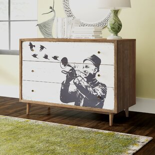 Dailey 3 Drawer Dresser