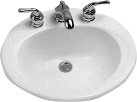 Toto Ceramic Oval Drop-In ..