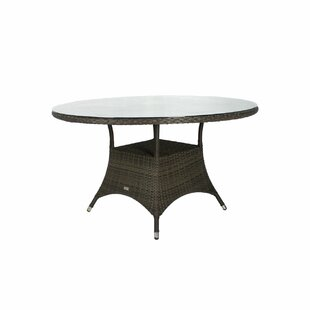 Elise Tempered Glass Dining Table by Ivy Bronx