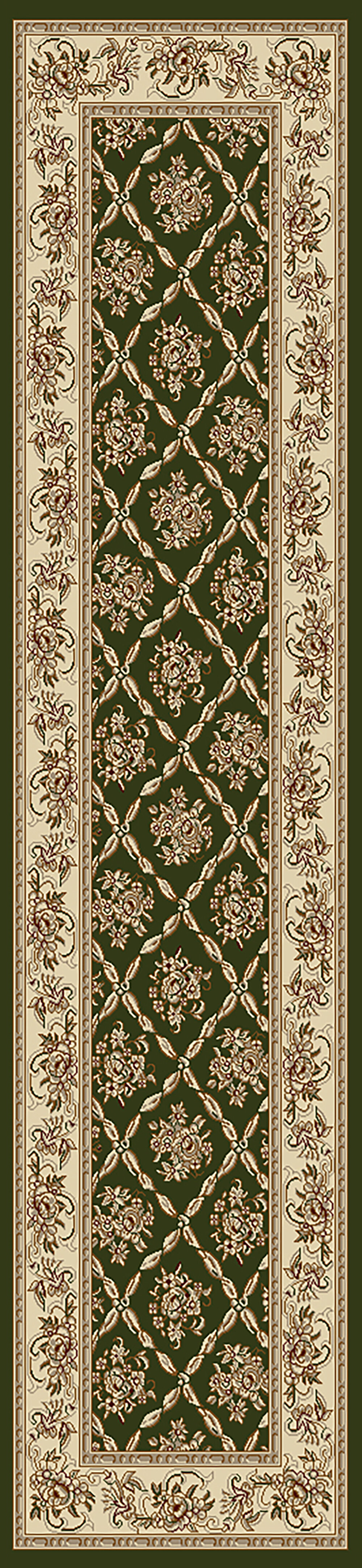 Astoria Grand Atterbury Oriental Green Area Rug Wayfair