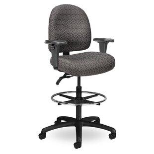Seating Inc Pearl II Mid-Back Drafting Chair