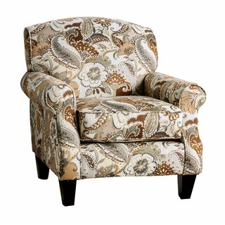 Agner Nature Inspired Fabric Armchair by Winston Porter SKU:CD589986 Check Price