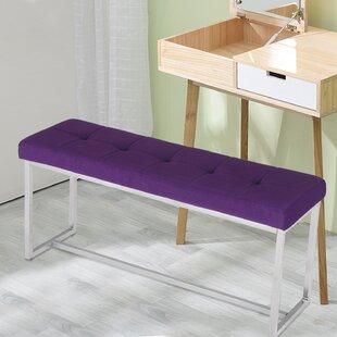 Orren Ellis Kiana Tufted Upholstered Bench