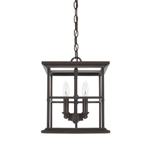 Lipan 4-Light Square/Rectangle Pendant by Darby Home Co