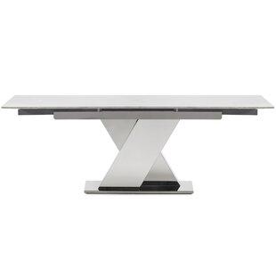 Hyslop Extendable Dining Table Orren Ellis