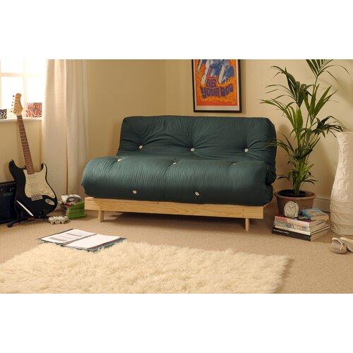 1-Sitzer Futonsessel Danford | Schlafzimmer > Schlafsofas > Schlafsessel | Grün | 17 Stories