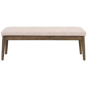 Wardle Upholstered Wood Bench by George O..