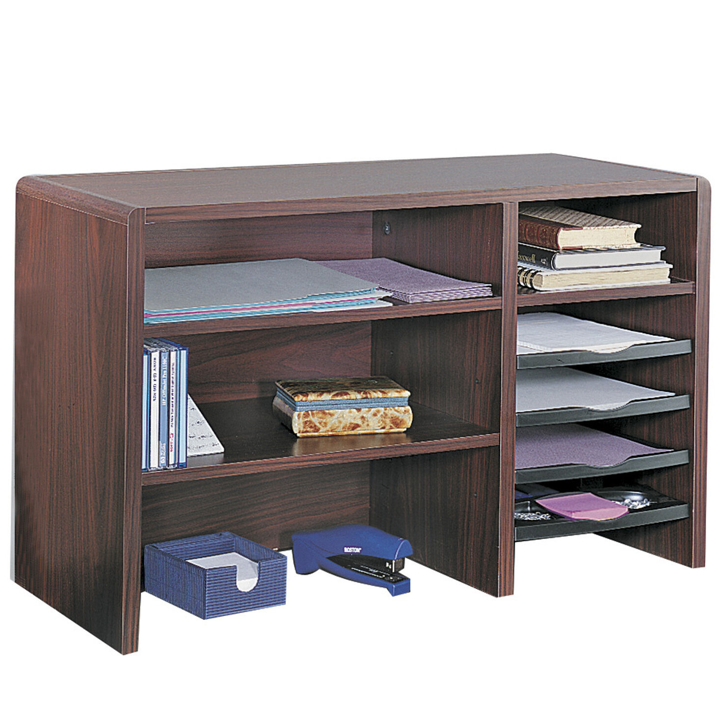 organizers products bamboo shelf tier international lipper organizer desk