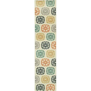Brokaw Beige/Yellow/Red Indoor/Outdoor Area Rug