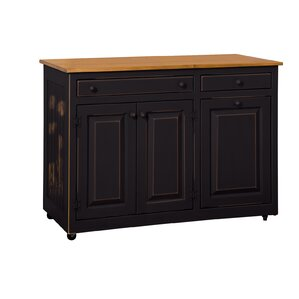 Elize Kitchen Island by August Grove
