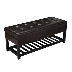 Beauchamp Rectangular Tufted Storage Ottoman by Red Barrel Studio