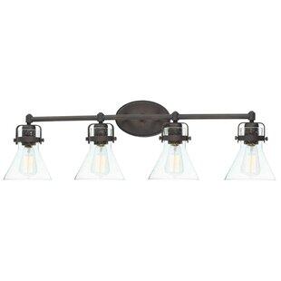 Williston Forge Haefner 4-Light Vanity Light