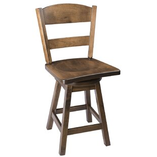 Caine 24 Swivel Bar Stool Loon Peak