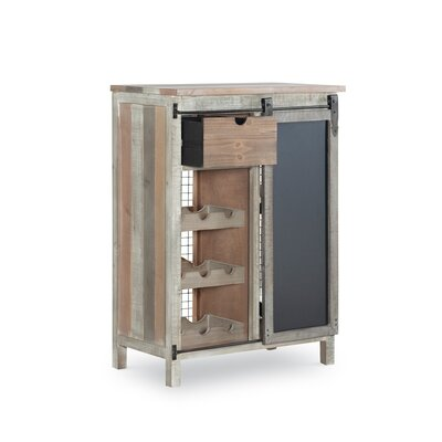 Midfield Wooden Bar With Wine Storage by Gracie Oaks 2020 Online