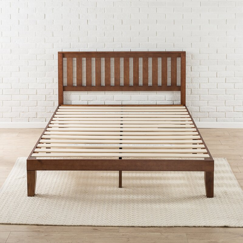 dalila solid wood platform bed - Wooden Platform Bed Frames