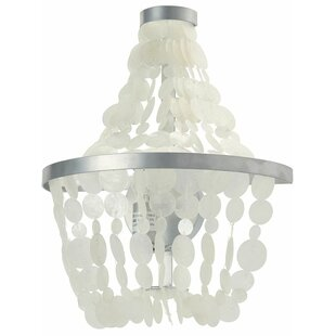 Kouboo Manor Capiz Seashell 1-Light Novelty Sconce