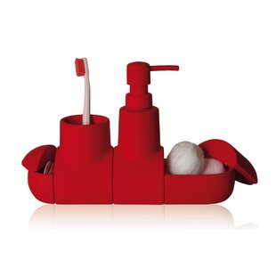 Seletti Submarino Porcelain Bathroom Accessory Set