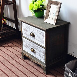 Villalpando 2 Drawer Nightstand