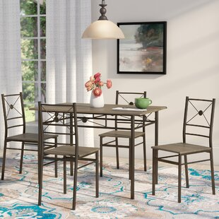 Kieffer 5 Piece Dining Set by Andover Mills Savings