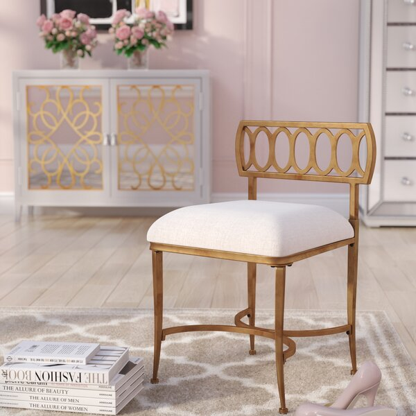 Marvelous Counter Height Vanity Stool Wayfair Beatyapartments Chair Design Images Beatyapartmentscom